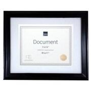nexxt Design Kiera Grace 8 Piece Oxford Wood Document Picture Frame Set (Set of 8); Black