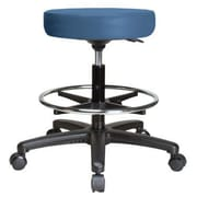 Perch Chairs & Stools Height Adjustable Swivel Stool with Foot Ring; Newport