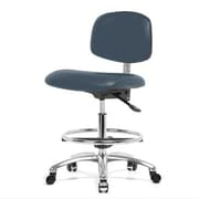 Perch Chairs & Stools 12'' Office Chair with Foot Ring; Newport