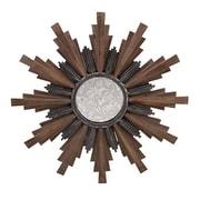 Woodland Imports Caldwell Wood and Iron Wall Mirror