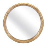 Woodland Imports Fredrick Round Wall Mirror