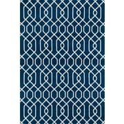 World Rug Gallery Newport Blue Area Rug; 5' x 7'