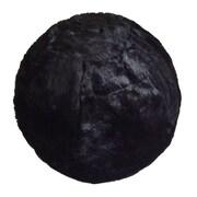 Rug Factory Plus Yoga Ball Exercise Chair; Black