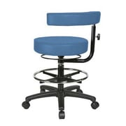 Perch Chairs & Stools Height Adjustable Dental Stool with Procedure Arm and Foot Ring; Newport