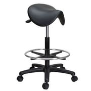 Perch Chairs & Stools Height Adjustable Saddle Stool w/ Foot Ring