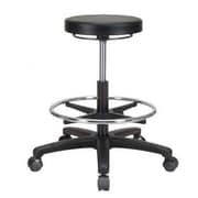 Perch Chairs & Stools Height Adjustable Lab Work Stool w/ Foot Ring