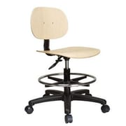 Perch Chairs & Stools 10'' Office Chair with Foot Ring
