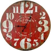 HDC International Oversized 23'' Round Big Numbers Clock