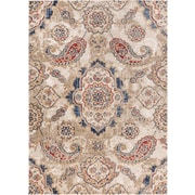 Well Woven Luxury Handmade Beige Area Rug; 5'3'' x 7'3''