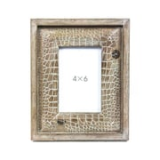 Sagebrook Home Wood Photo Frame; 4'' x 6''