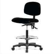 Perch Chairs & Stools 12'' Lab Chair; Black