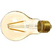 EdisonMills Amber E26 LED Vintage Filament Light Bulb; 25 W