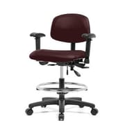 Perch Chairs & Stools 12''  Office Chair; Burgundy