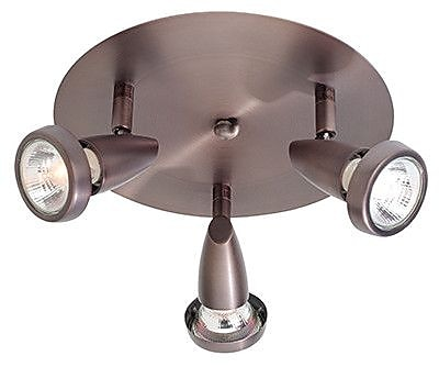 Access Lighting Mirage 3 Light Track Light; Bronze WYF078279089359