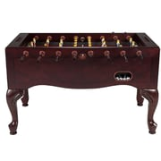 Berner Billiards Furniture Style Foosball Table; Mahogany