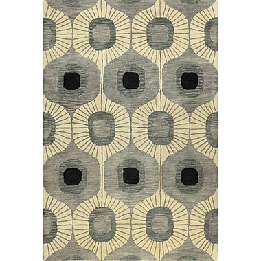 Bashian Rugs Ashland Grey Area Rug; 8'6'' x 11'6''