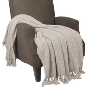 BOON Throw & Blanket Fluffy Throw Blanket; String Gray