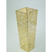 Tamara Child's Studio Tapered Square Glass Vase