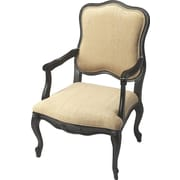 Butler Accent Arm Chair; Black Licorice