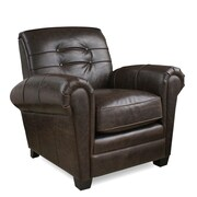 Opulence Home Aaron Arm Chair; Brompton Cocoa