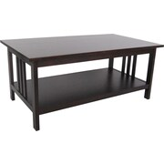 Alaterre Craftsman Coffee Table; Espresso