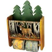 Rivers Edge Deer Wall Mounted Magazine Rack/Toilet Paper Holder