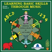 Educational Activities, Inc., Learning Basic Skills Through Music Vol. 4-Vocabulary, (CD521)