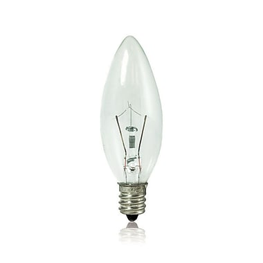 Bulbrite KRY B8 15W Dimmable Clear 2700K Soft White 10PK (460015)