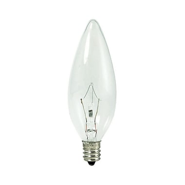 Bulbrite KRY B10 40W Dimmable Clear 2700K Soft White 10PK (460040)