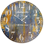 ByronAnthonyHome 23'' De Paris Wood Clock