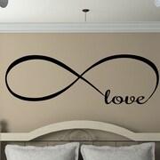 Davis Vinyl Designs Infinity Love Wall Decal