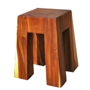 Asian Art Imports Bell Solid Wood Stool
