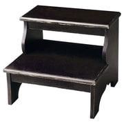 Butler Masterpiece 2-Step Wood Step Stool 200 lb. Load Capacity; Brushed Sable