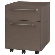 OfisLite 2-Drawer Mobile Filling Cabinet; Espresso