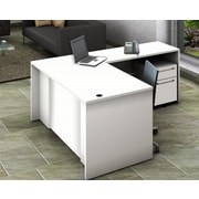 OfisLite Executiver Desk; White