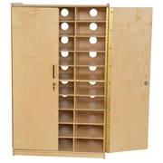 Wood Designs 49''H x 30''W x 16''D Tablet Charging Storage (990782)