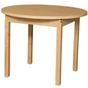 Wood Designs HPL Tables 36'' Round Table 29''H Hardwood Legs (HPL36RND29)