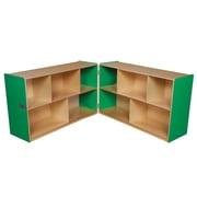 Wood Designs 30''H x 96''W x 15''D Mobile Folding Versatile Storage Unit (13100G
