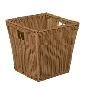 Wood Designs Medium Size-10''H x 10''W x 10''D Plastic Wicker Basket (71901)