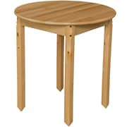 Wood Designs 30'' Round Birch Hardwood Tables 29''H Hardwood Legs (83029)