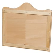 Wood Designs 27''H x 29.5''W Scalloped Wall Display (990254)
