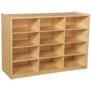 Wood Designs 29.06''H x 42''W x 15''D Cubby Shelves (990315)