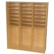 Wood Designs 59.5''H x 48''W x 15''D Storage Shelf (990343)