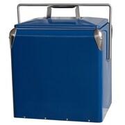 AmeriHome Retro Style Picnic Cooler 3 Gal. Blue (300358)
