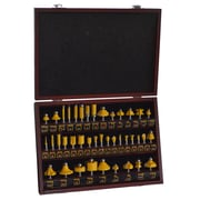Pro-Series 40 Piece Router Bit Set in Wood Box (300397)