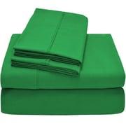 Bare Home Premium Ultra Soft Twin XL Sheet Set; Palm Green