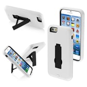 Insten Stylish Symbiosis Stand Hybrid Rugged Hard Shockproof Cover Case For iPhone 6 6S - Black/White (1934345)