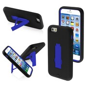 "Insten Dark Blue/Black Stylish Symbiosis Stand Hybrid Shockproof Cover Hard Case For iPhone 6S 6 4.7"" (1934348)"