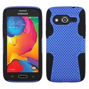 Insten Astronoot Hard Dual Layer Silicone Cover Case For Samsung Galaxy Avant - Dark Blue/Blue (1984659)