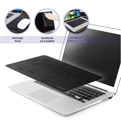 Insten Multi functional Mouse Pad Act as Screen Protector Cleaning Cloth 10.8 x 6.3 2208926